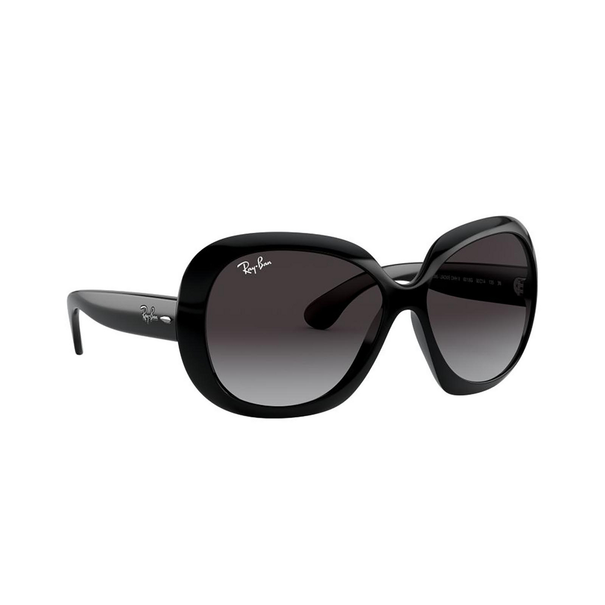 Ray-Ban® Butterfly Sunglasses: Jackie Ohh Ii RB4098 color Black 601/8G - 2/3.