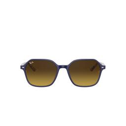 Ray-Ban® Sunglasses: John RB2194 color Blue On Stripes Orange / Blue 132085.