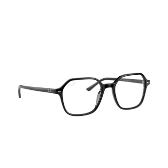 Ray-Ban® Square Eyeglasses: John RX5394 color Black 2000.