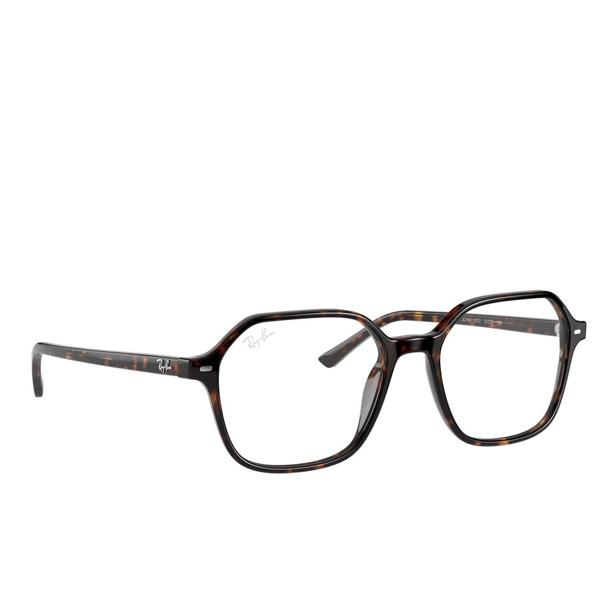 Ray-Ban® Square Eyeglasses: John RX5394 color Havana 2012.