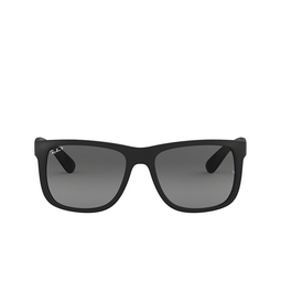 Ray-Ban® Sunglasses: Justin RB4165 color Rubber Black 622/T3.