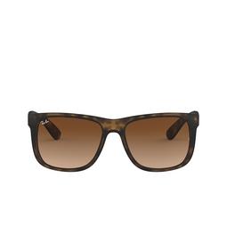 Ray-Ban® Sunglasses: Justin RB4165 color Rubber Light Havana 710/13.