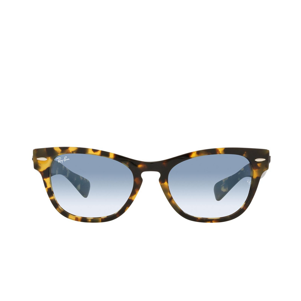 Ray-Ban® Square Sunglasses: Laramie RB2201 color Yellow Havana 13323F.