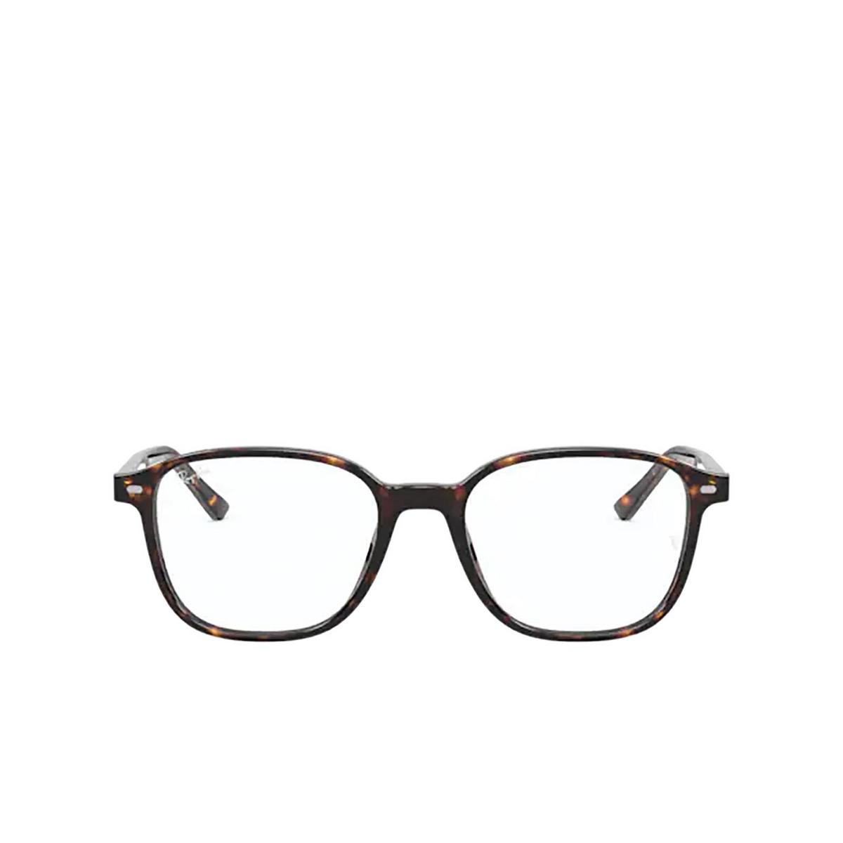 Ray-Ban® Square Eyeglasses: Leonard RX5393 color Havana 2012.