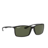Ray-Ban® Square Sunglasses: Liteforce RB4179 color Matte Black 601S9A - product thumbnail 2/3.