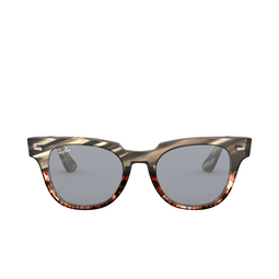 Ray-Ban® Sunglasses: Meteor RB2168 color Grey Gradient Brown Stripped 1254Y5.