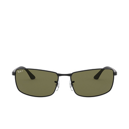 Ray-Ban® Rectangle Sunglasses: N/a RB3498 color Black 002/71.
