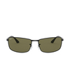 Ray-Ban® Rectangle Sunglasses: N/a RB3498 color Black 002/9A - product thumbnail 1/3.