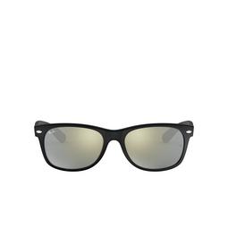 Ray-Ban® Square Sunglasses: New Wayfarer RB2132 color Rubber Black 622/30.