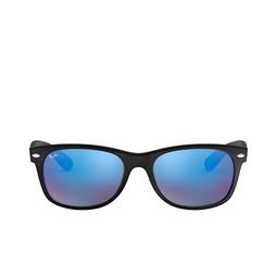 Ray-Ban® Square Sunglasses: New Wayfarer RB2132 color Rubber Black 622/17.