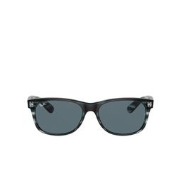 Ray-Ban® Square Sunglasses: New Wayfarer RB2132 color Striped Blue Havana 6432R5.