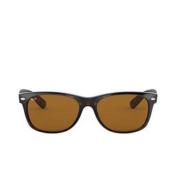 Ray-Ban® Square Sunglasses: New Wayfarer RB2132 color Light Havana 710.