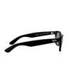 Ray-Ban® Square Sunglasses: New Wayfarer RB2132M color Black F60131 - product thumbnail 3/3.
