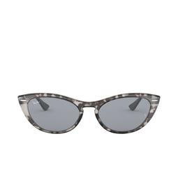 Ray-Ban® Cat-eye Sunglasses: Nina RB4314N color Havana Grey 1250Y5.