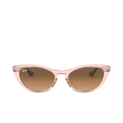 Ray-Ban® Sunglasses: Nina RB4314N color Transparent Light Brown 128151.