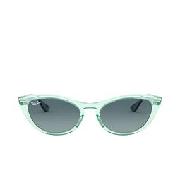 Ray-Ban® Sunglasses: Nina RB4314N color Transparent Green 12853M.
