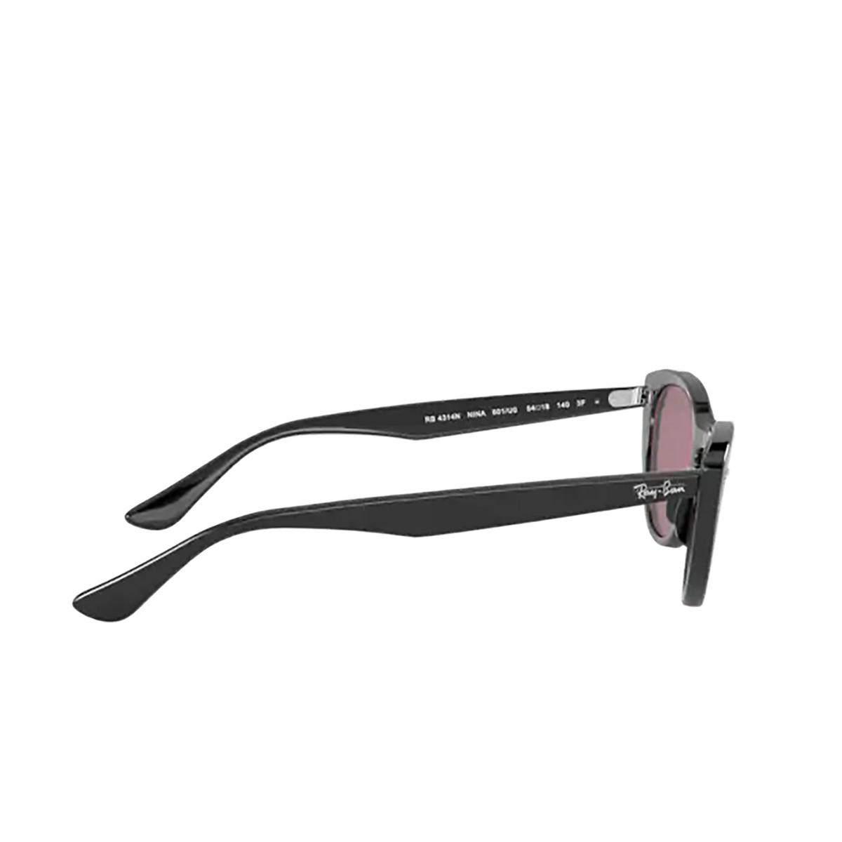 Ray-Ban® Cat-eye Sunglasses: Nina RB4314N color Black 601/U0 - 3/3.