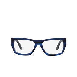 Ray-Ban® Eyeglasses: Nomad Wayfarer RX5487 color Striped Blue 8053.