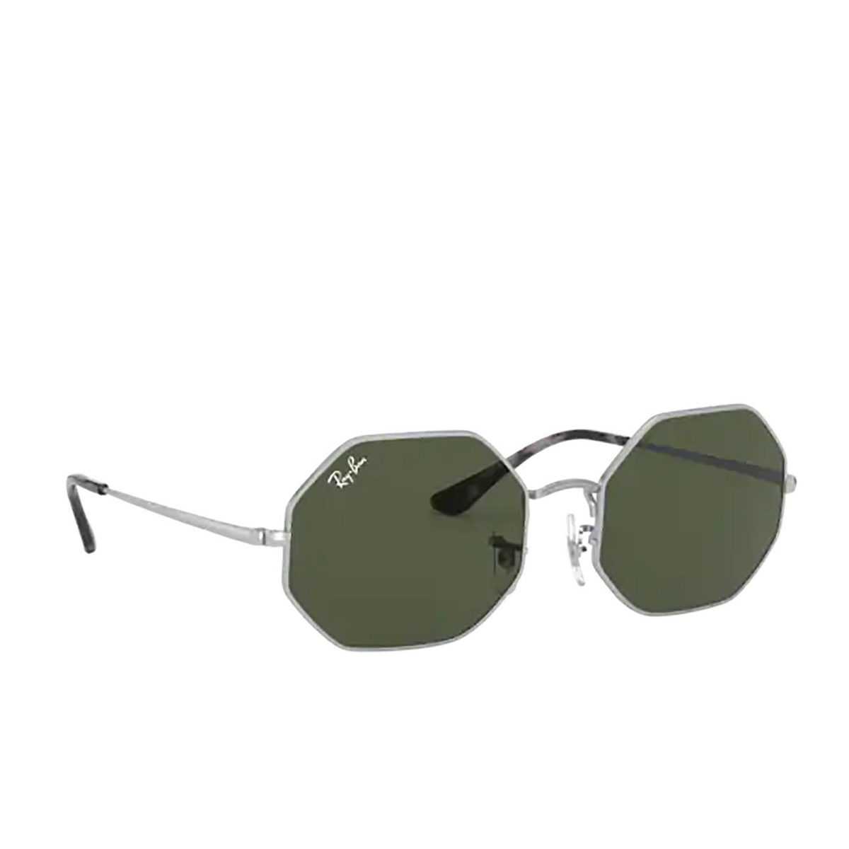 Ray-Ban® Irregular Sunglasses: Octagon RB1972 color Silver 914931.