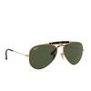 Ray-Ban® Aviator Sunglasses: Outdoorsman Ii RB3029 color Arista 181 - product thumbnail 2/3.