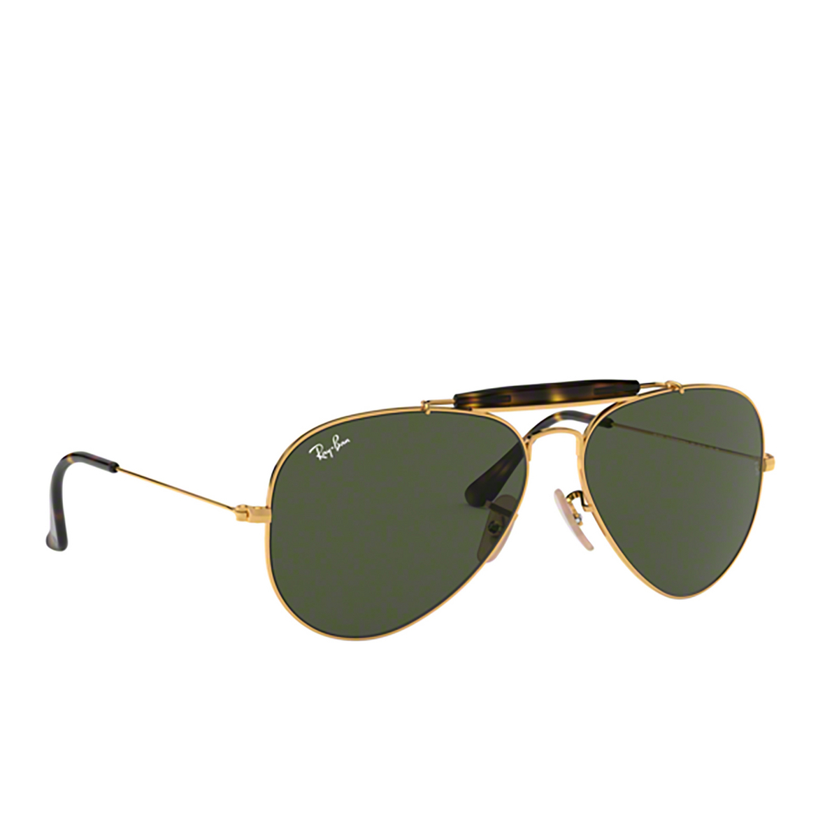 Ray-Ban® Aviator Sunglasses: Outdoorsman Ii RB3029 color Arista 181 - 2/3.