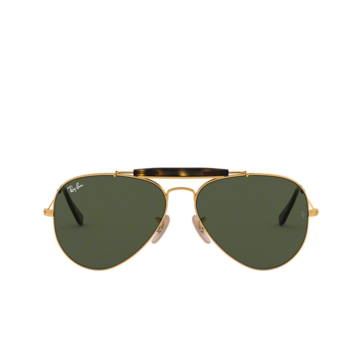 Ray-Ban® Aviator Sunglasses: Outdoorsman Ii RB3029 color Arista 181 - 1/3.