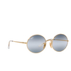 Ray-Ban® Oval Sunglasses: Oval RB1970 color Arista 001/GA - product thumbnail 2/3.