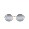 Ray-Ban® Oval Sunglasses: Oval RB1970 color Arista 001/GA - product thumbnail 1/3.