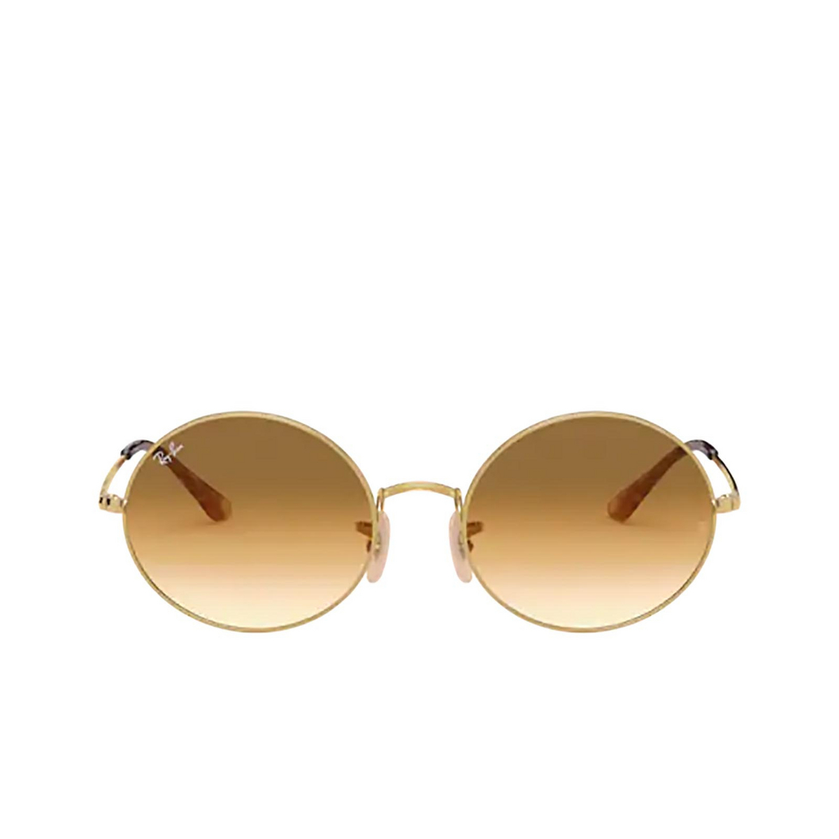 Ray-Ban® Oval Sunglasses: Oval RB1970 color Arista 914751 - front view.