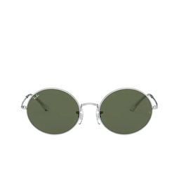 Ray-Ban® Oval Sunglasses: Oval RB1970 color Silver 914931.