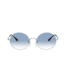 Ray-Ban® Oval Sunglasses: Oval RB1970 color Silver 91493F.