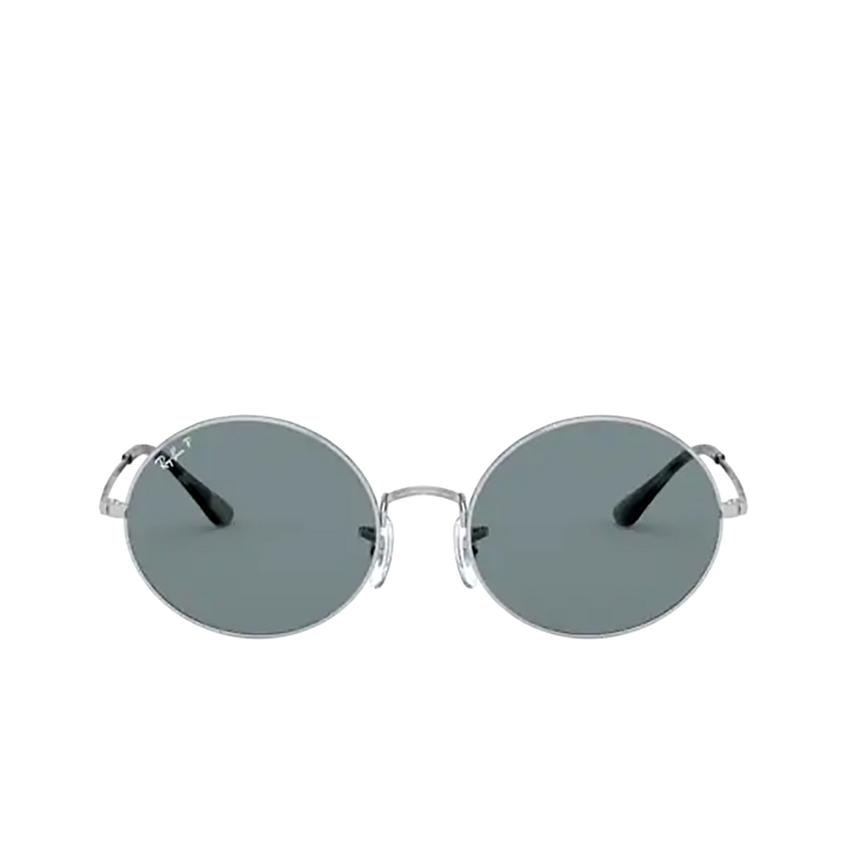 Ray-Ban® Oval Sunglasses: Oval RB1970 color Silver 9149S2.