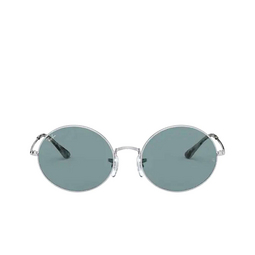 Ray-Ban® Oval Sunglasses: Oval RB1970 color Silver 919756.