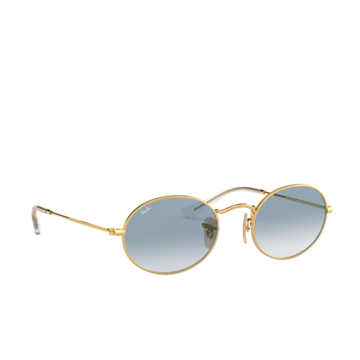 Ray-Ban® Oval Sunglasses: Oval RB3547N color Arista 001/3F.