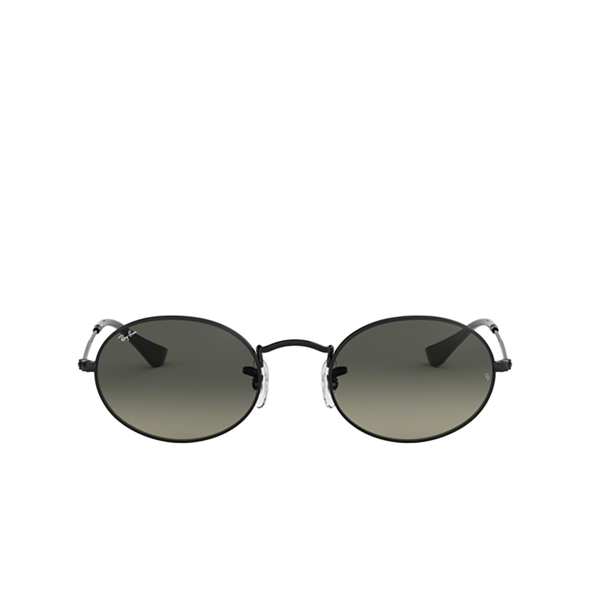 Ray-Ban® Oval Sunglasses: Oval RB3547N color Black 002/71.