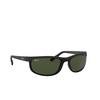 Ray-Ban® Rectangle Sunglasses: Predator 2 RB2027 color Black W1847 - product thumbnail 2/3.