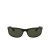 Ray-Ban® Rectangle Sunglasses: Predator 2 RB2027 color Black W1847 - product thumbnail 1/3.