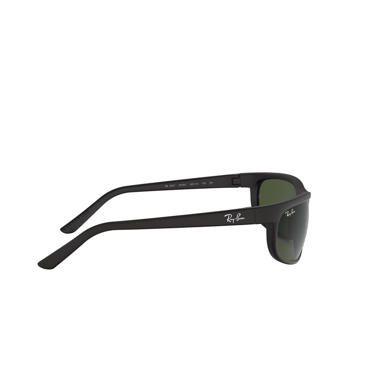 Ray-Ban® Rectangle Sunglasses: Predator 2 RB2027 color Black W1847 - 3/3.