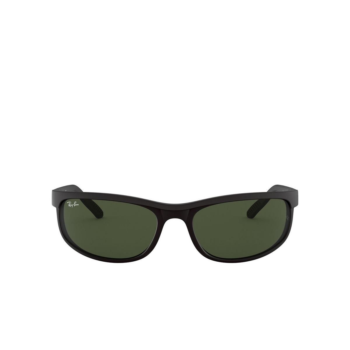 Ray-Ban® Rectangle Sunglasses: Predator 2 RB2027 color Black W1847 - 1/3.