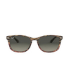 Ray-Ban® Square Sunglasses: RB2184 color Grey Gradient Brown Striped 125471 - product thumbnail 1/3.