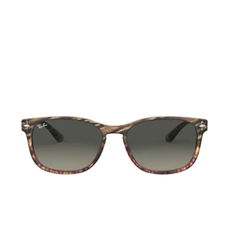 Ray-Ban® Square Sunglasses: RB2184 color Grey Gradient Brown Striped 125471.