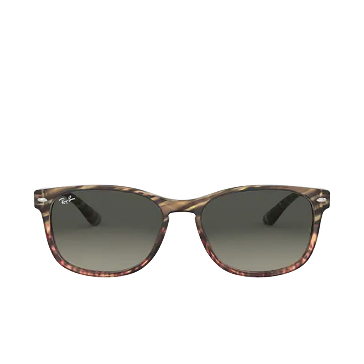 Ray-Ban® Square Sunglasses: RB2184 color Grey Gradient Brown Striped 125471 - 1/3.