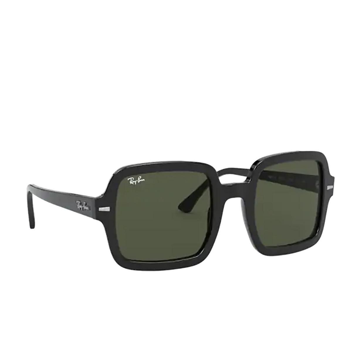 Ray-Ban® Square Sunglasses: RB2188 color Black 901/31 - 2/3.