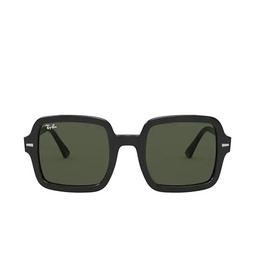 Ray-Ban® Square Sunglasses: RB2188 color Black 901/31.