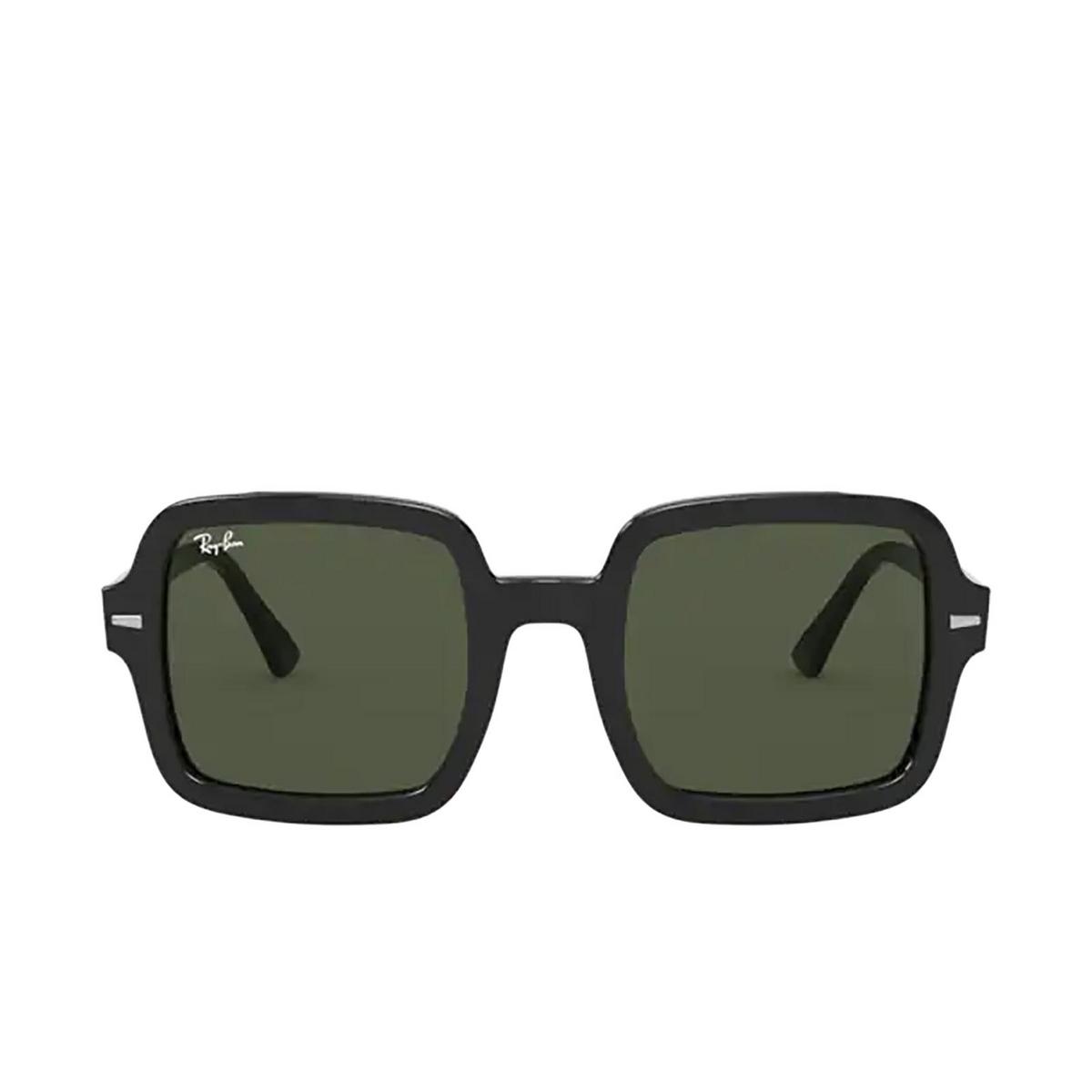 Ray-Ban® Square Sunglasses: RB2188 color Black 901/31 - 1/3.