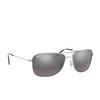 Ray-Ban® Aviator Sunglasses: RB3543 color Silver 003/5J - product thumbnail 2/3.