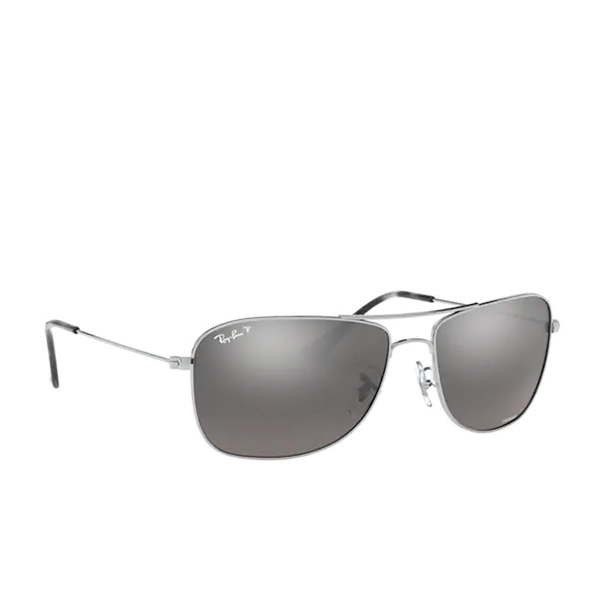 Ray-Ban® Aviator Sunglasses: RB3543 color Silver 003/5J - 2/3.