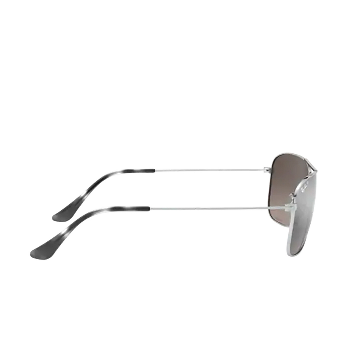 Ray-Ban® Aviator Sunglasses: RB3543 color Silver 003/5J - 3/3.
