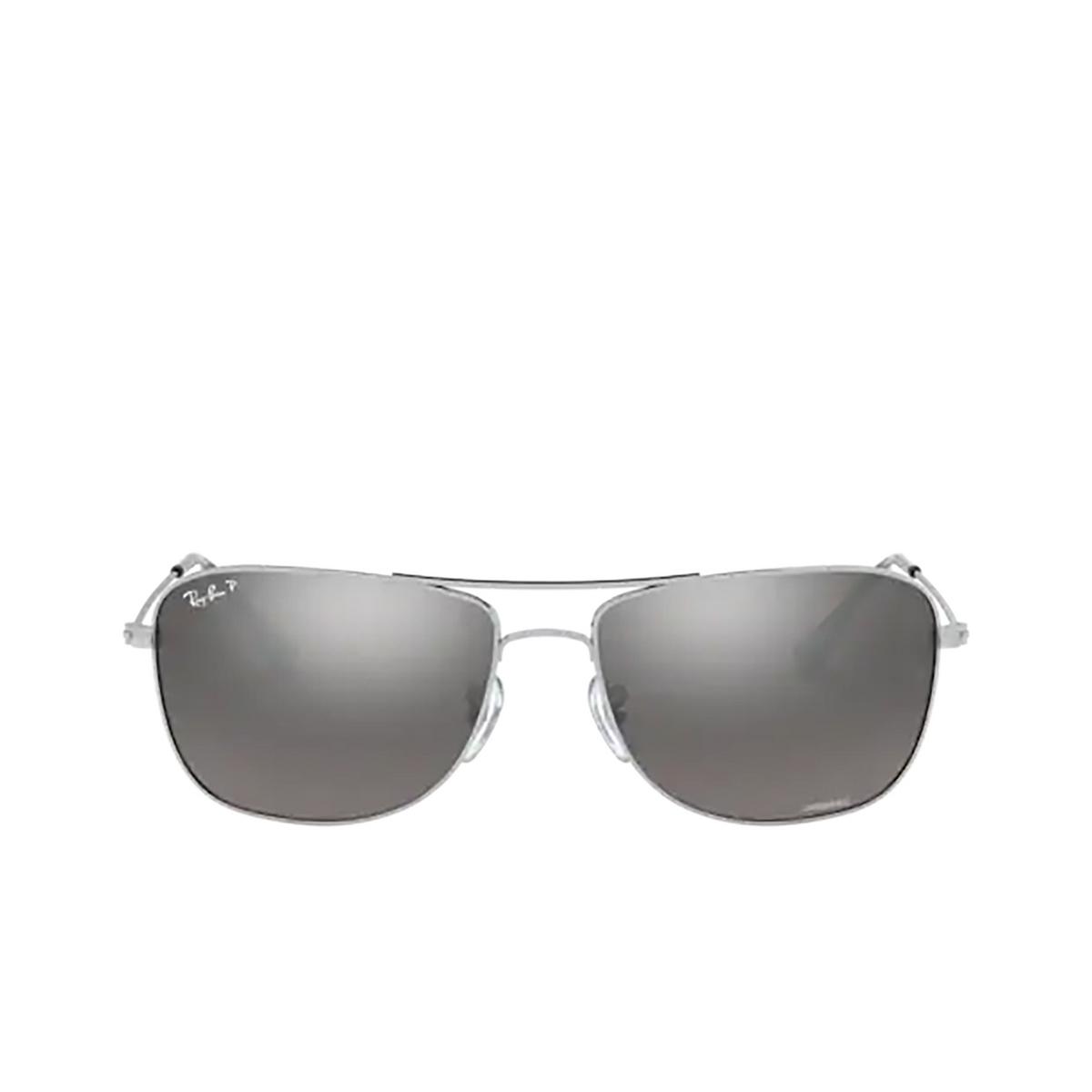 Ray-Ban® Aviator Sunglasses: RB3543 color Silver 003/5J - 1/3.