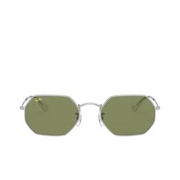 Ray-Ban® Irregular Sunglasses: RB3556 color Silver 91984E.